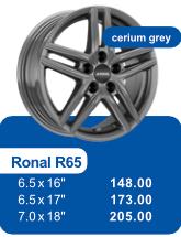 Alufelge RONAL R65