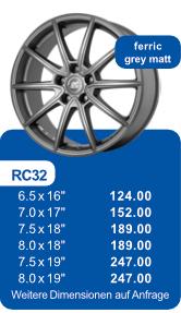 Alufelge RC32