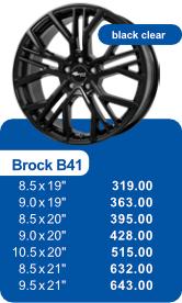Alufelge BROCK B41